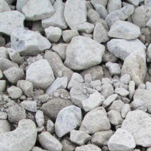 crushed limestone for surface foundation