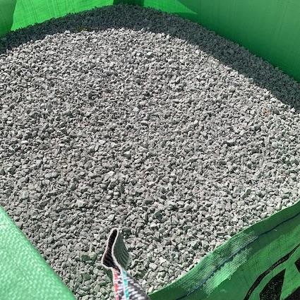 Bulk bag of 10mm limestone