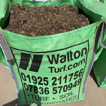 Bulk bag of wood clippings from trees
